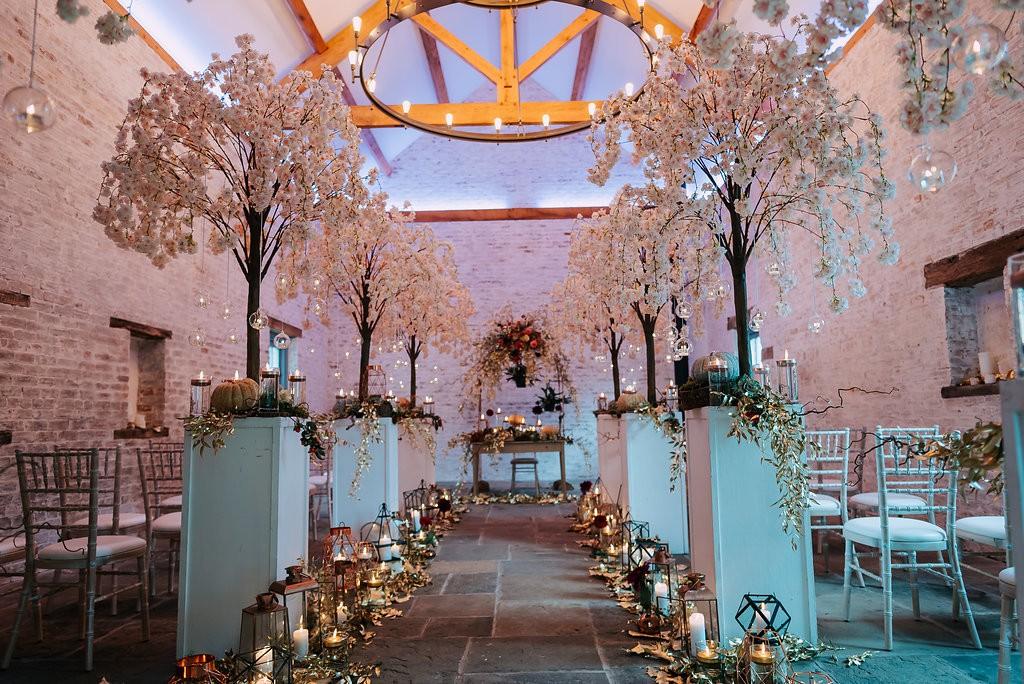 Dorfold Hall Wedding Ceremony Area