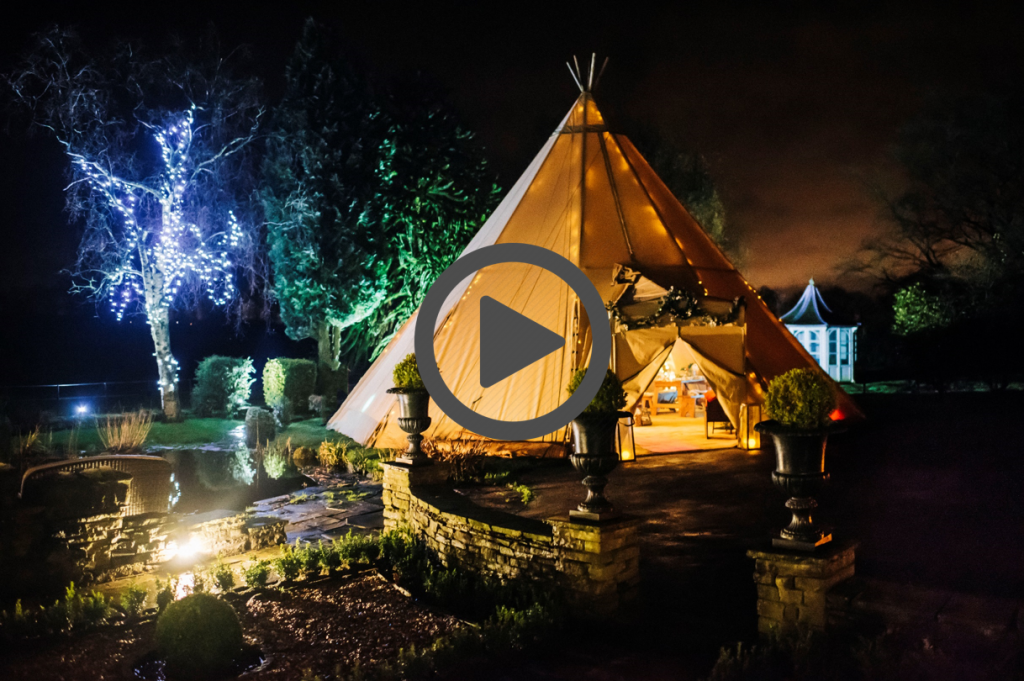 Christmas Tipi Party